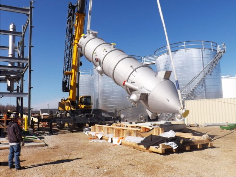 Biodiesel Production - Graywolf Integrated Construction project
